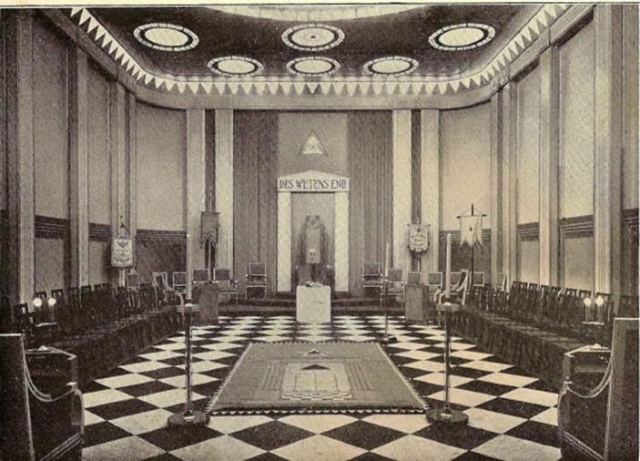 Blauwe Tempel zonder schilderingen ( voor 1936)